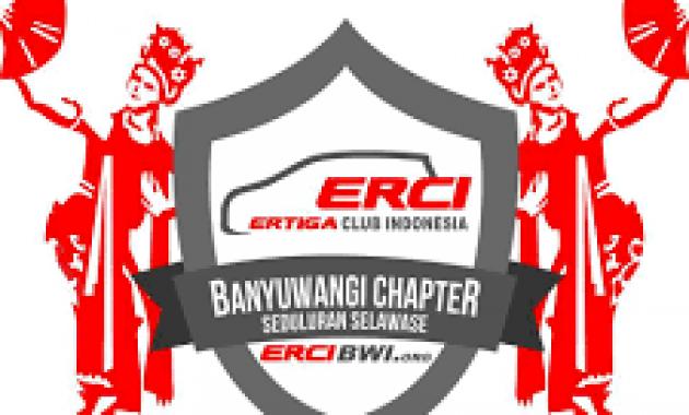 Logo ERCI Chapter Banyuwangi