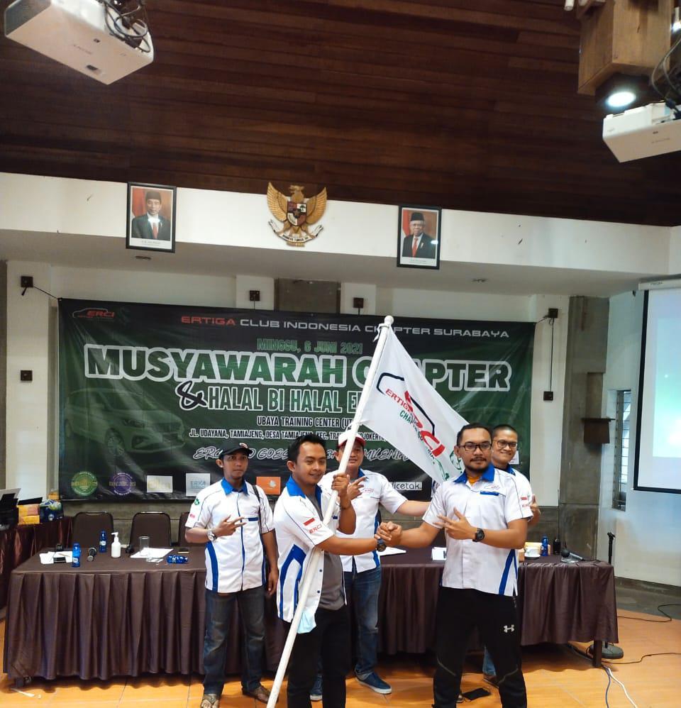 Muschap dan Halal Bihalal Erci Chapter Surabaya Tahun 2021